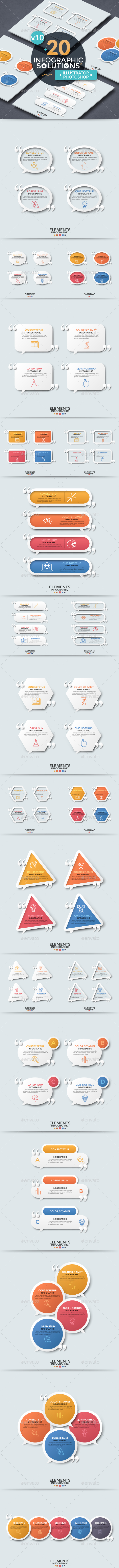 Infographic Solutions. Part 10 - Infographics