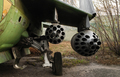 Rocket launcher under the wing of aircraft - PhotoDune Item for Sale