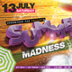 Summer Beach Madness Flyer - GraphicRiver Item for Sale