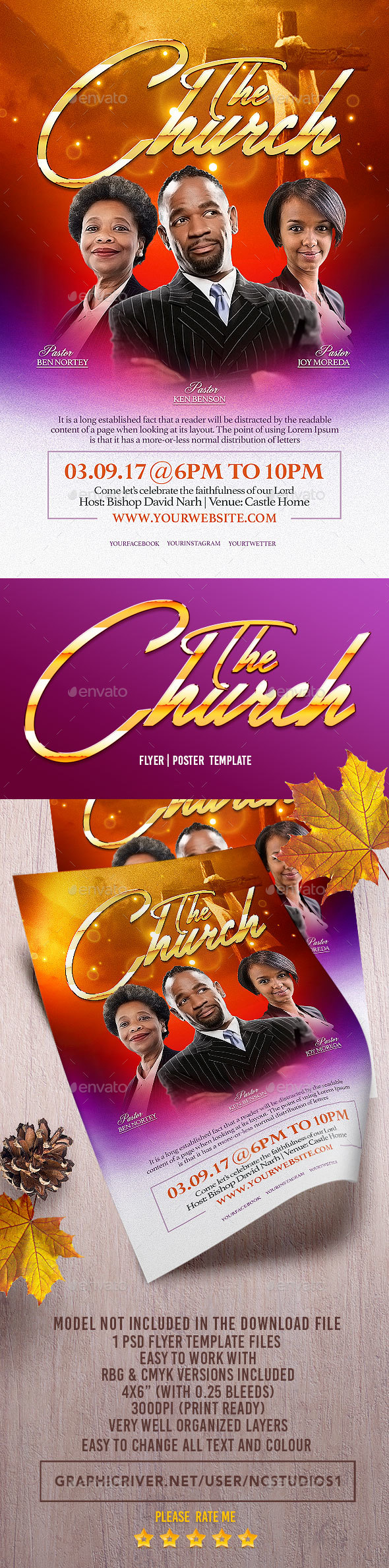 The Church Flyer Template