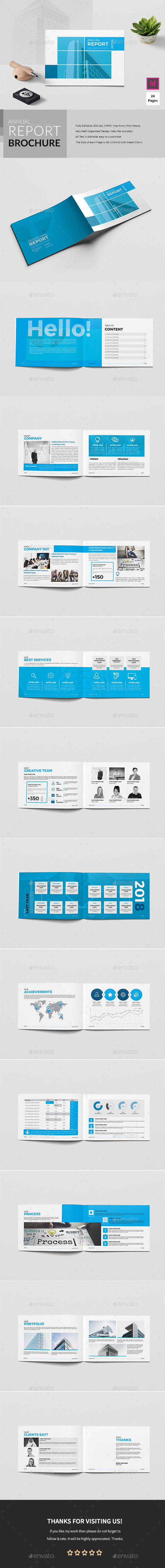 A5 Annual Report Brochure - Corporate Brochures