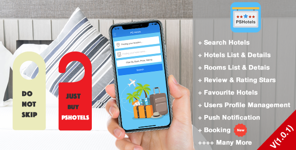 PSHotels iOS (Ultimate Hotels Finder Application With Backend) - CodeCanyon Item for Sale
