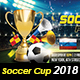 Soccer Cup 2018 - GraphicRiver Item for Sale