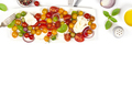 Caprese salad on white background - PhotoDune Item for Sale