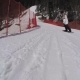 Snowboarder Slides Down, Rosa Khutor - VideoHive Item for Sale