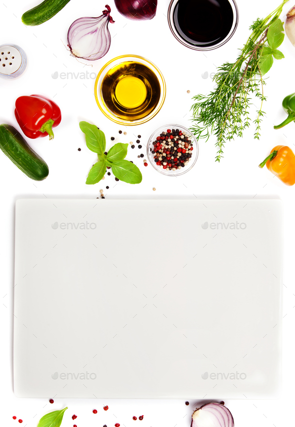 Fresh ingredients for cooking - Stock Photo - Images