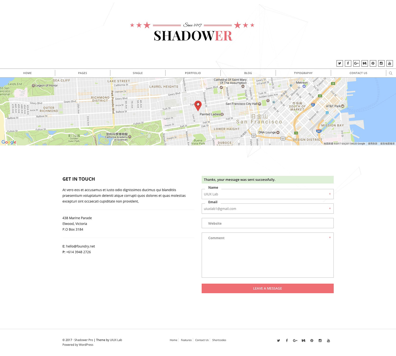 shadower pro a clean responsive wordpress theme for bloggers by