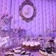 Candy Bar in the Restaurant, Children's Party, a White Teddy Bear with a Butterfly on Her Neck - VideoHive Item for Sale