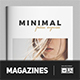 Minimalist Magazine Fashion - GraphicRiver Item for Sale