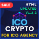ICO Crypto - Bitcoin & Cryptocurrency Landing Page HTML Template - ThemeForest Item for Sale