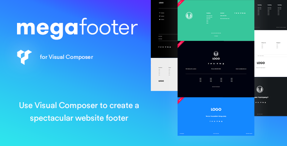 Mega Footer for Visual Composer - CodeCanyon Item for Sale