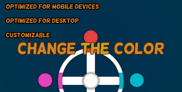 Change The Color (HTML5 Game + Construct 2 CAPX)            Nulled