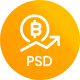 Poysa  - Bitcoin and Cryptocurrency PSD Template - ThemeForest Item for Sale
