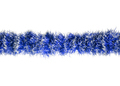 Seamless Christmas blue silver tinsel - PhotoDune Item for Sale