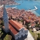 Flight Around Rovinj Church, Croatia - VideoHive Item for Sale