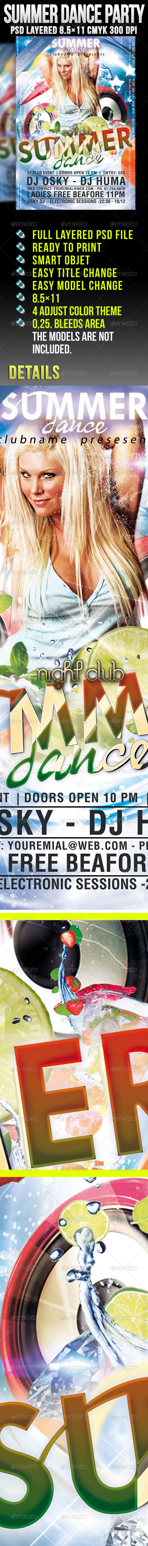 Summer Dance Party - Clubs & Parties Events