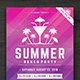 Summer Beach Party Flyer Template - GraphicRiver Item for Sale