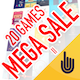 MEGA SALE II - 20 GAMES - CodeCanyon Item for Sale