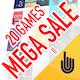 MEGA SALE II - 20 GAMES