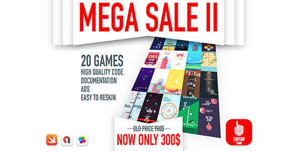 MEGA SALE II - 20 GAMES            Nulled