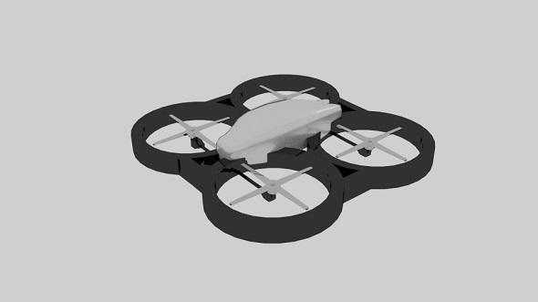 Drone Metal - 3DOcean Item for Sale