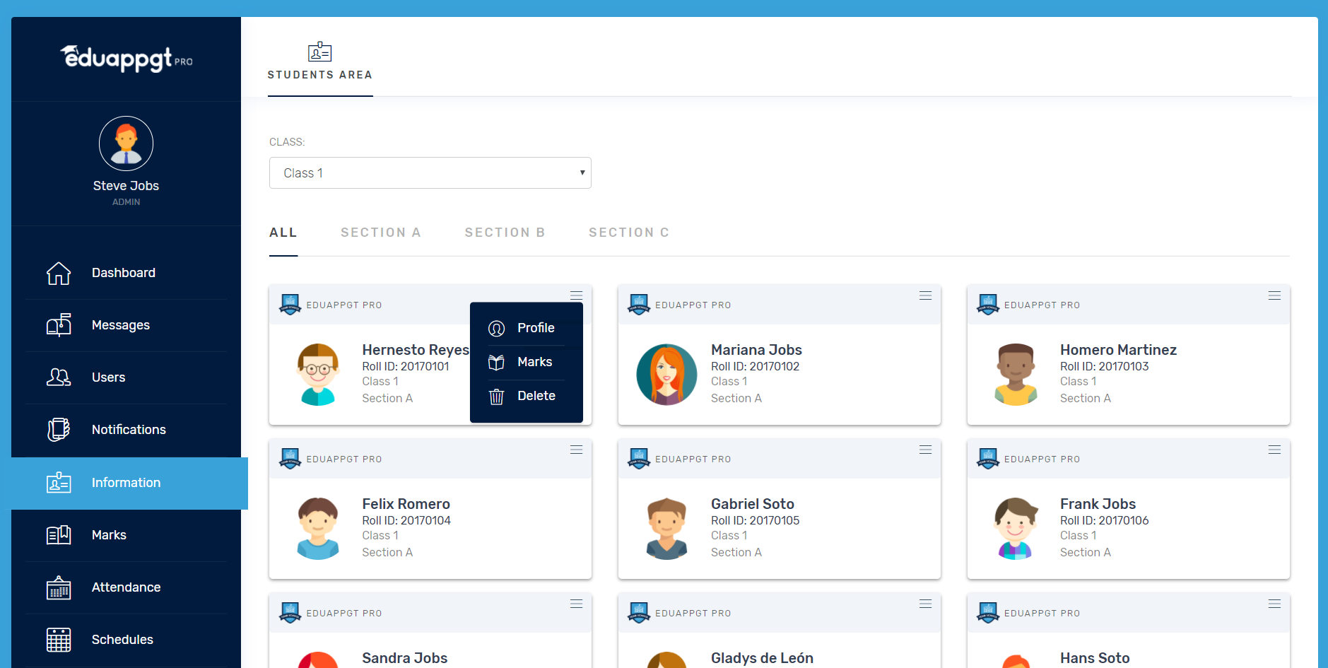 School Management System By GuateApps