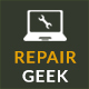 Repair Geek - Laptop And Computer Fixing Service Center HTML5 Template - ThemeForest Item for Sale