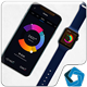 iWatch & Phone X Mockup - GraphicRiver Item for Sale