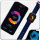 iWatch & Phone X Mockup