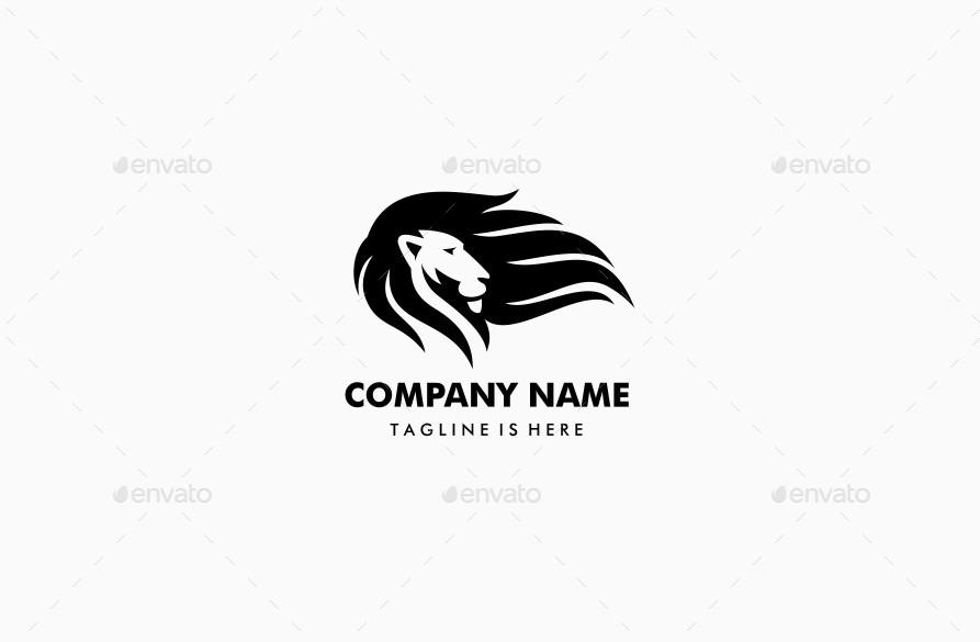 Lion Logo Hair