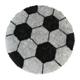 Round carpet Football