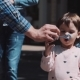 Little Girl Blows Soap Bubbles - VideoHive Item for Sale