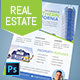 Real Estate Flyer - 2 Color Variations
