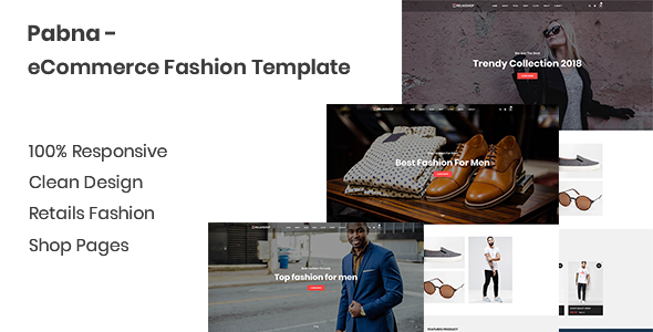 Image of Pabna - eCommerce Fashion Template
