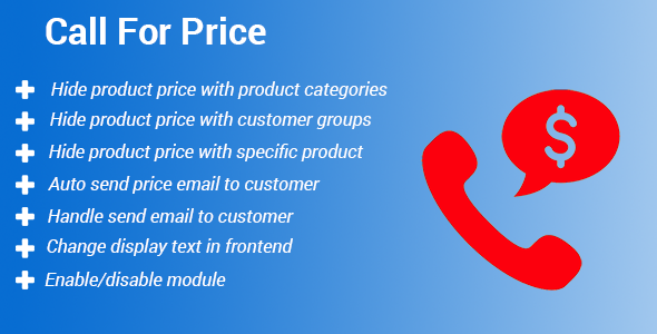 Magento 2 Call For Price - CodeCanyon Item for Sale