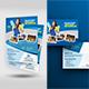 Cleaning Service Flyer & Postcard Bundle