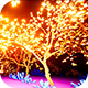 Neon Glowing Stars Tunnel - 65