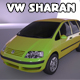VW Sharan - 3DOcean Item for Sale