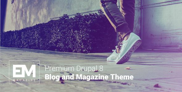 Image of EM - Blog & Magazine Drupal Theme