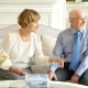 Happy Caucasian Elderly Couple Spending Time Together - VideoHive Item for Sale