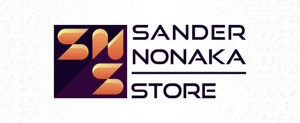 Sandernonakastore homepage