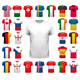 Collection Of Various Soccer Jerseys, Vector - GraphicRiver Item for Sale