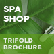 Spa Shop Trifold Brochure - GraphicRiver Item for Sale