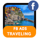 Traveling & Holiday FB Ad Banners - AR