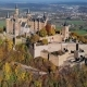 Aerial View of Hohenzollern Castle, Germany - VideoHive Item for Sale