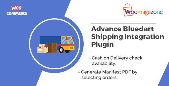 Woocommerce Advance Bluedart Shipping Integration Plugin - CodeCanyon Item for Sale