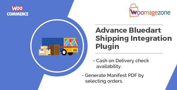 Woocommerce Advance Bluedart Shipping Integration Plugin - CodeCanyon Item for Sale