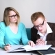 Male and Female Students Doing Homework Together Spending Time in Campus - VideoHive Item for Sale