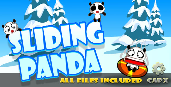 Sliding Panda (CAPX & HTML) Game! - CodeCanyon Item for Sale