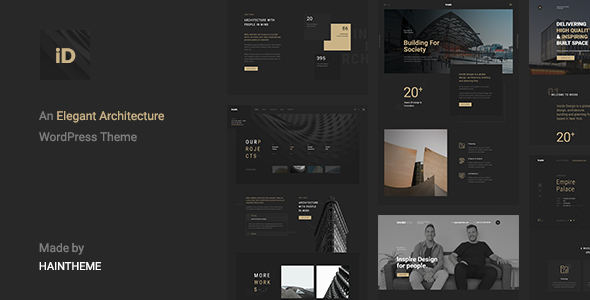 Insidect - Architecture & Interior WordPress Theme - Portfolio Creative